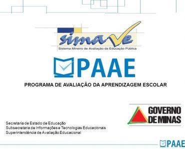 Programa de Avaliação da Aprendizagem Escolar paae