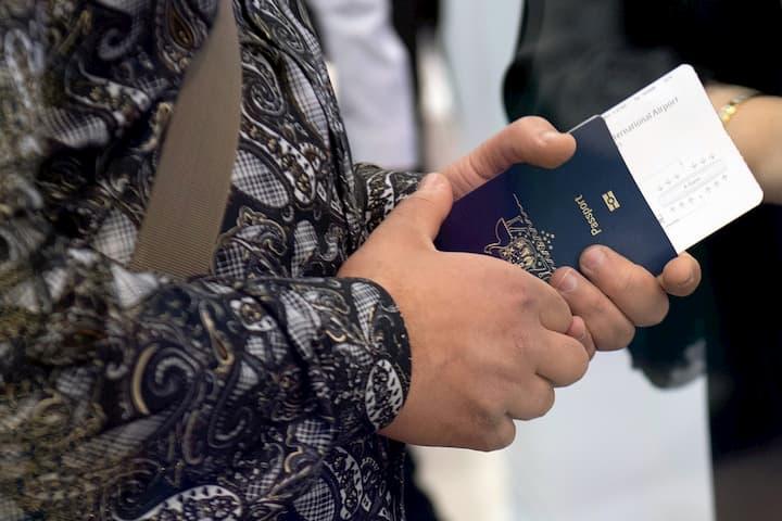 passaporte para viagem