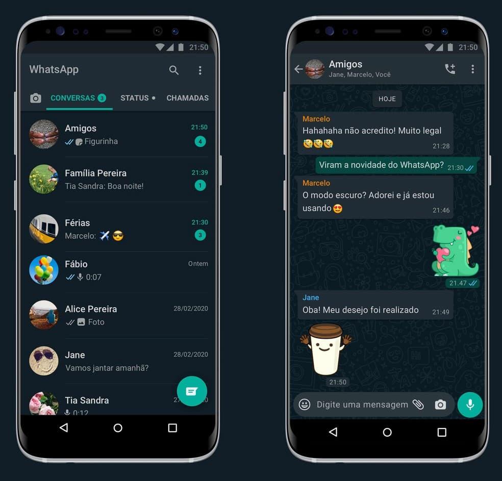 Modo Escuro do Whatsapp (1)