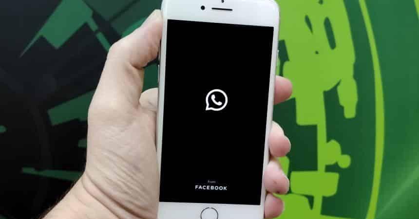como ativar modo escuro do whatsapp