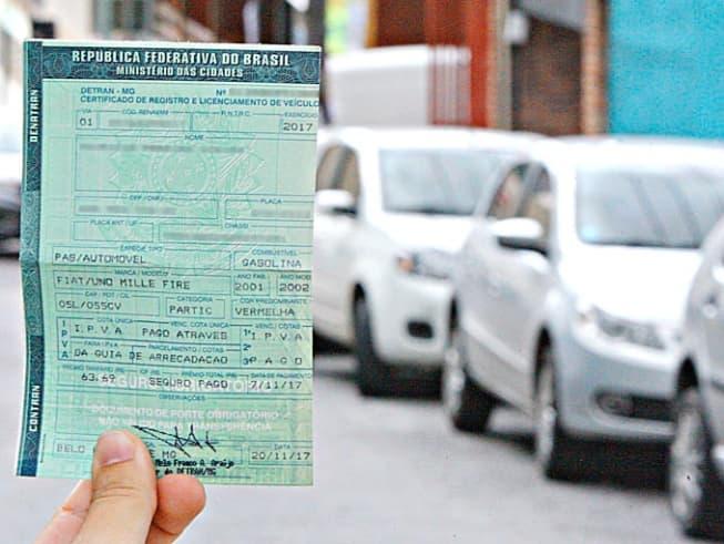 documentos obrigatorio do veiculo